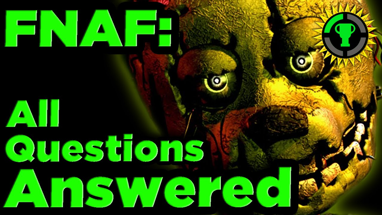 fnaf mysteries solved pt 1 the game theorists wiki fandom