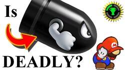 How Deadly is Super Mario's Bullet Bill