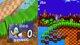 Green Hill Zone screen