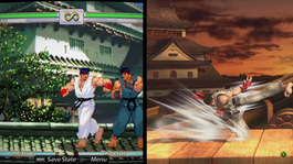 Ryu DLC screen