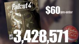 Fallout Bottle Caps Screen