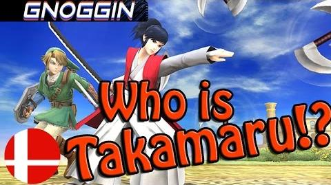 Takamaru in Smash Bros! but Who is he? Gnoggin