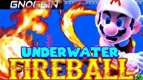 How Does Mario Throw Fireballs Underwater? Gnoggin
