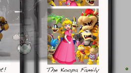 Bowser's BROKEN HOME screen