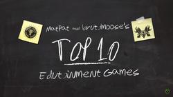 Top 10 Educational Games Screenshot