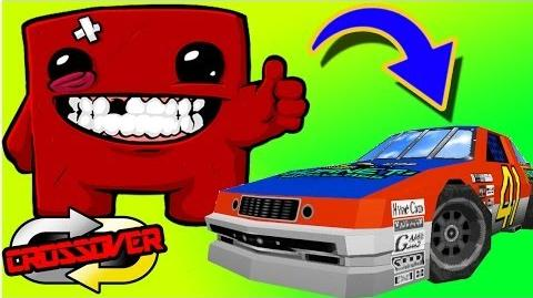 Meat Boy Visits Daytona...Connecting Super Meat Boy to Daytona USA - Crossover