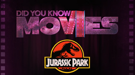 Jurassic Park and the Soggy T-Rex screen