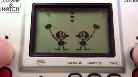 Judge Game A Gameplay - Nintendo Game & Watch