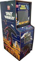 Space Invaders cabinato