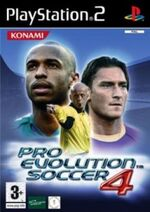 PES 4 (PS2) cover EU