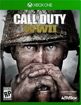 CoD - WWII Cover art Xbox One