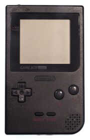 Game Boy Pocket Black