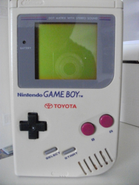Original Game Boy Toyota logo