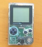 Game Boy Pocket Clear
