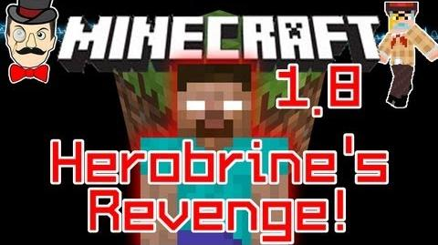 Minecraft HEROBRINE Strikes in NPC Village! Terrifying Return!-0