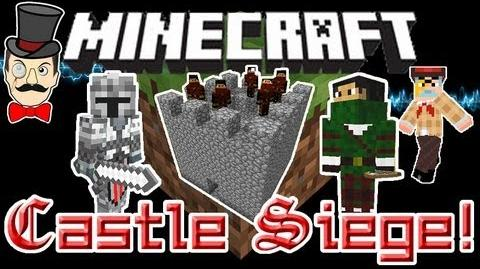 Minecraft Mods - CASTLE DEFENDERS Mod! Lay Siege to Enemy Castles with Mercenaries!-0