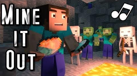 "♪ ""Mine It Out"" - A Minecraft Parody of will.i.am's Scream and Shout (Music Video)"