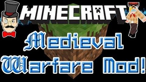 Minecraft Mods - MEDIEVAL WARFARE Mod! Guards and Rogue Knights Clash Swords!