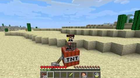 Minecraft HARMLESS TNT in 1.3 !!