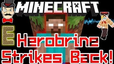 Minecraft HEROBRINE Strikes Back! He's Watching You in 1.0
