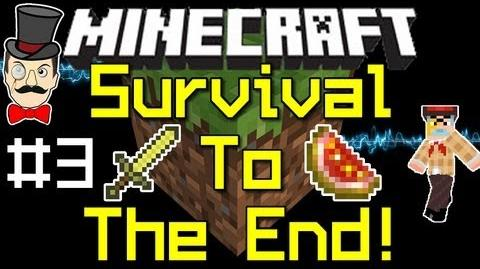 Minecraft 1.0 SURVIVAL to THE END Playthrough PART 3 !