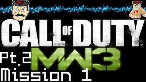 Call of Duty Modern Warfare 3 PLAYTHROUGH Mission 1 Part 2
