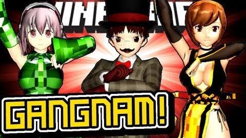 Minecraft GANGNAM STYLE Dance Animation!