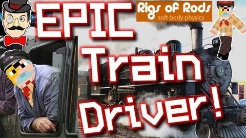 BERTIE = EPIC TRAIN DRIVER ! Rigs of Rods 4 - Choo Choo !