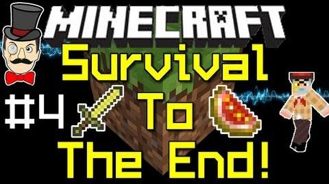 Minecraft 1.0 SURVIVAL to THE END PART 4-0