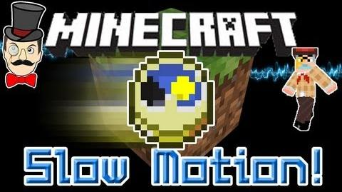 Minecraft Mods - SLOW MOTION Mod! Control Time, Super Speed, Slow Explosions & More!