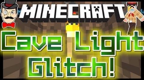 Minecraft LIGHT GLITCH Underground in 12w07b! No Need for Torches!