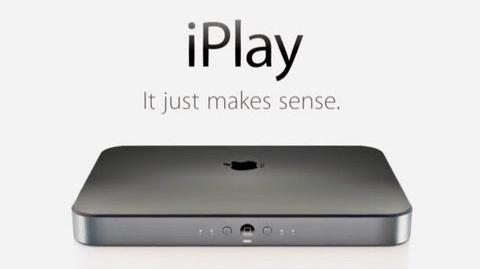 Introducing the Apple iPlay - Apple games console!