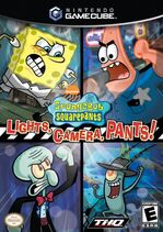 Spongebob Lights Camera Pants