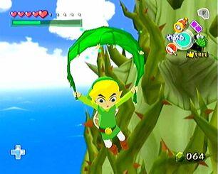 ZeldaWWDeku Leaf float