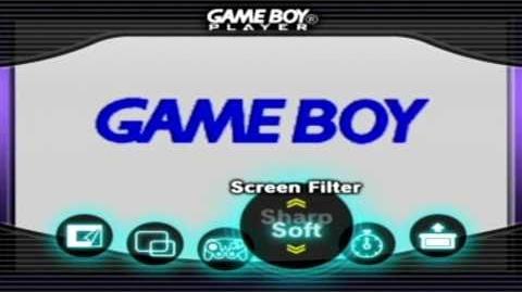GAMEBOY PLAYER marcos y opciones (gamecube)