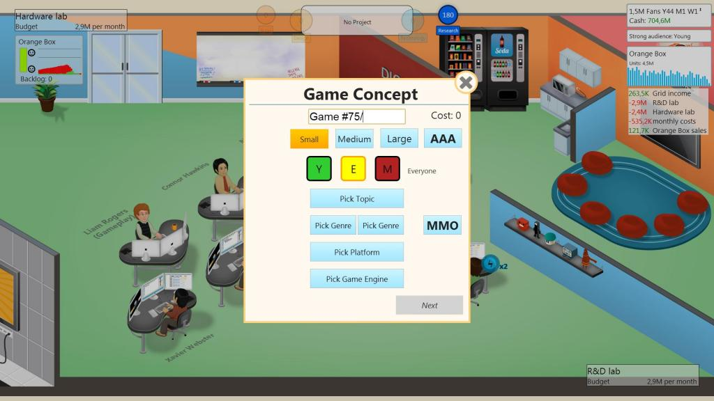 Game Development Based on Experience/1 4 3 | Game Dev Tycoon