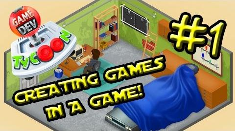 CREATING GAMES IN A GAME! Game Dev. Tycoon 1