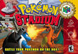 Pokemon Stadium BA