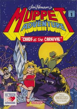 Muppet Adventure Chaos at the Carnival Cover