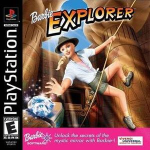 Barbie Explorer Cover