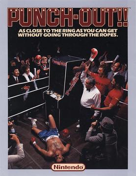 Punchout arcadeflyer