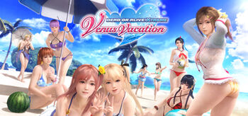 Dead or Alive XTreme;Venus Vacation cover
