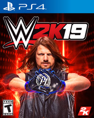 WWE 2K19 PS4 Cover