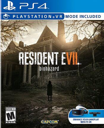 Resident Evil 7 Biohazard PlayStation 4