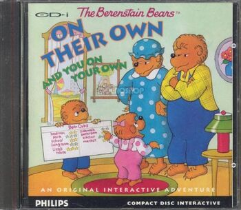 The Berenstain Bears on Their Own and You on Your Own CD-i