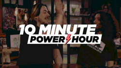10 Minute Power Hour title card