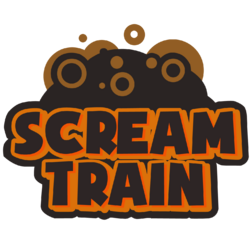 Scream Train Logo