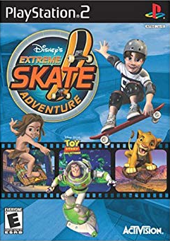 Disney's Extreme Skate Adventure PS2 Cover