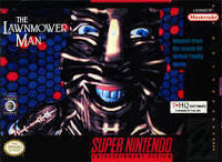 The Lawnmower Man (SNES boxart)