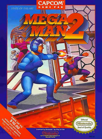 MegaMan2Cover